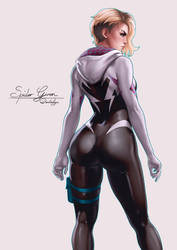 Spider Gwen by dandonfuga
