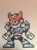 Mega Man 8-bit Freeze Man by Megaawesomedude4