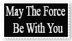May The Force Be With You Stamp by sydneypie