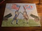 Civil War by sydneypie