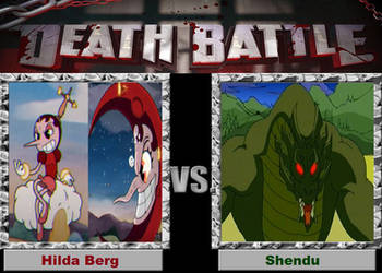 Death Battle: The Moon Blimp And The Demon Wimp by sydneypie
