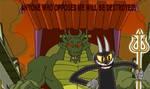 The Devil And Shendu by sydneypie