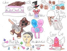 Melanie Martinez Sketchdump by sydneypie