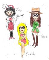 Girls by sydneypie