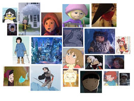 Animated Short Girls + Four Realms: Snow by sydneypie