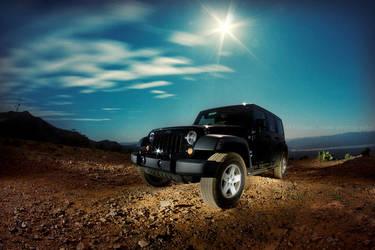 Moonlight Jeep Jeep by CalliopesRoom