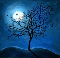 Winter Night by Chibi-sempai