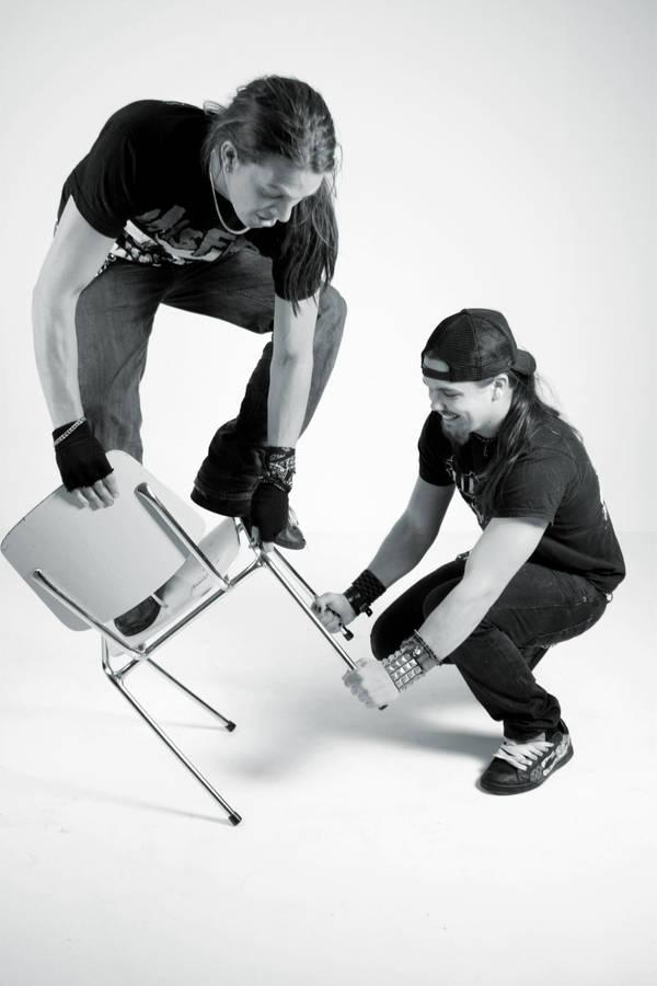 Fredrik and Chris by Blodgud