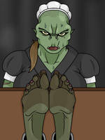 The Lusty Orcish Maid by Lord-Reckless