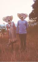 Mr. and Mrs. Koala by BringMeMyTexasTea