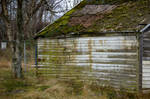 shed wall by JensStockCollection