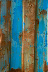 blue barricade by JensStockCollection
