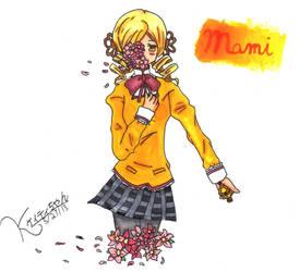 Mami Tomoe - Petals by Misaki-Miho