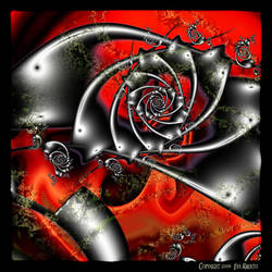 UF09 Red and Black...002 by Xantipa2