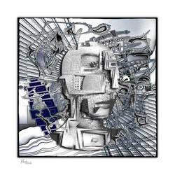 AB2016-461 ... Techno-HEAD by Xantipa2