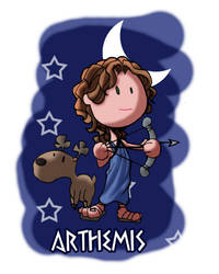 The Gods - Arthemis by OttoArantes
