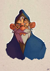 Old man revised. by OttoArantes