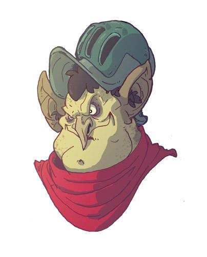 Goblin Knight by OttoArantes