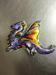 Dragon Cookie by FiendRaphael