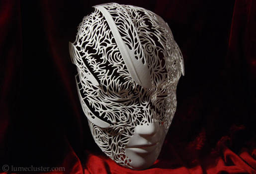 Dreamer Mask: Convergence (3D printed) by Lumecluster