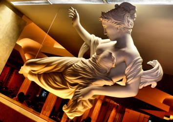 Hanging Statuary - Interior by krasblak