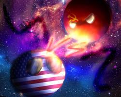 Cold War -CountryballsArt- by DarknessTheGirl