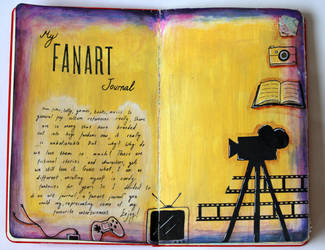 Fanart Journal - First Page by Emesbury1397
