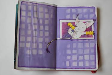 Fanart Journal - Gatomon by Emesbury1397