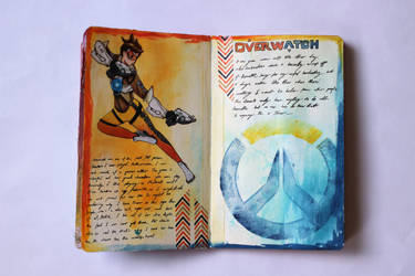 Fanart Journal - Tracer by Emesbury1397
