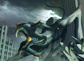 COW #380: Pacific Rim Kaiju by ArdentMind
