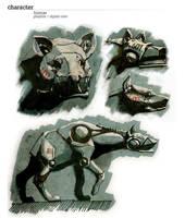 Conjunto hiena by AltoContrasteStudio