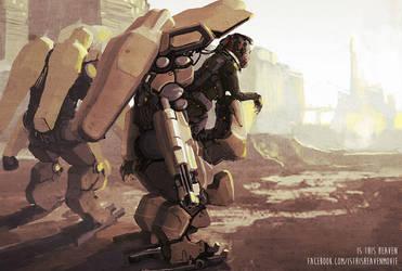 kreiger pilot desert by AltoContrasteStudio