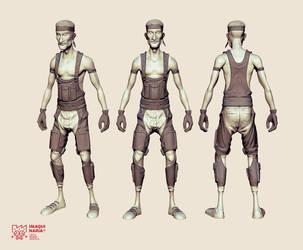 Tricahue pilot 3D by AltoContrasteStudio