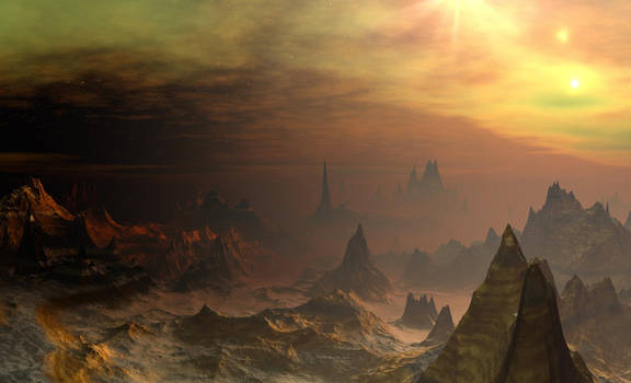 Golden City by DarkAngelsRhapsody
