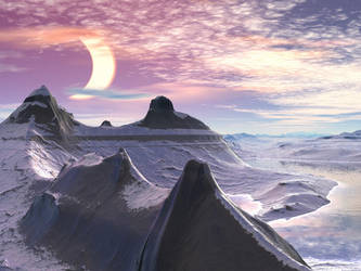 Arctic Eclipse by DarkAngelsRhapsody