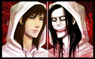 Jeff The Killer Wallpaper by SUCHanARTIST13