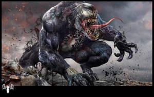 Venom WIP by uncannyknack