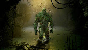 Swamp Thing by uncannyknack