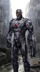 Cyborg by uncannyknack