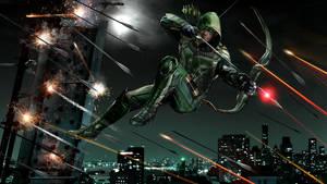 Green Arrow by uncannyknack