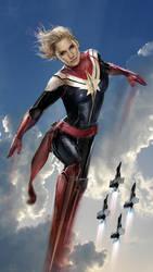 Captain Marvel by uncannyknack