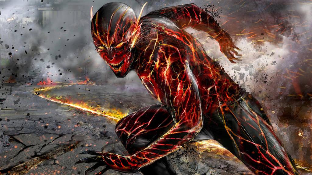 Reverse Flash New 52 by uncannyknack