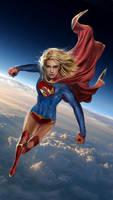 Supergirl by uncannyknack