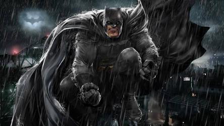Frank Miller's Dark Knight by uncannyknack