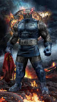Darkseid WIP by uncannyknack