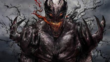 Anti-Venom WIP by uncannyknack