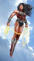 Wonder Woman WIP by uncannyknack