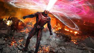 X-Men Cyclops WIP by uncannyknack