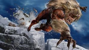 Sabretooth WIP by uncannyknack