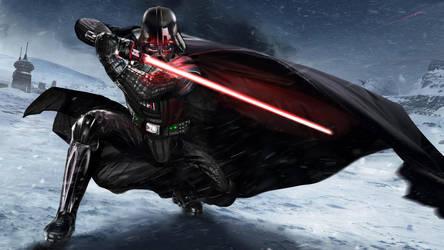 Vader WIP by uncannyknack